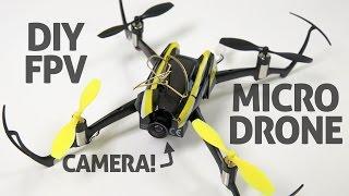 How-to DIY Micro FPV Racing Drone!! Blade Nano QX