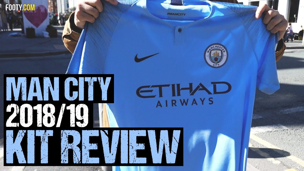 the latest db1b6 08c6e MAN CITY 2018/2019 NIKE SHIRT REVIEW | FANS' REACTION!
