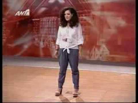 The X-Factor greece 2009-Nini Shermadini-Auditions 1
