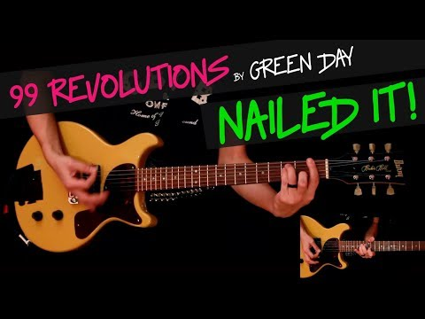 99 Revolutions - Green Day cover by GV (Billie Joe`s studio part) +chords