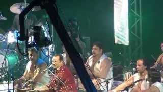 rahat fateh ali khan best live performance tumhain dillagi bhool jany pari gi