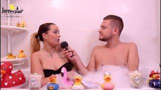 Kelly (Moundir et les apprentis aventuriers 2) dans le bain de Jeremstar - INTERVIEW