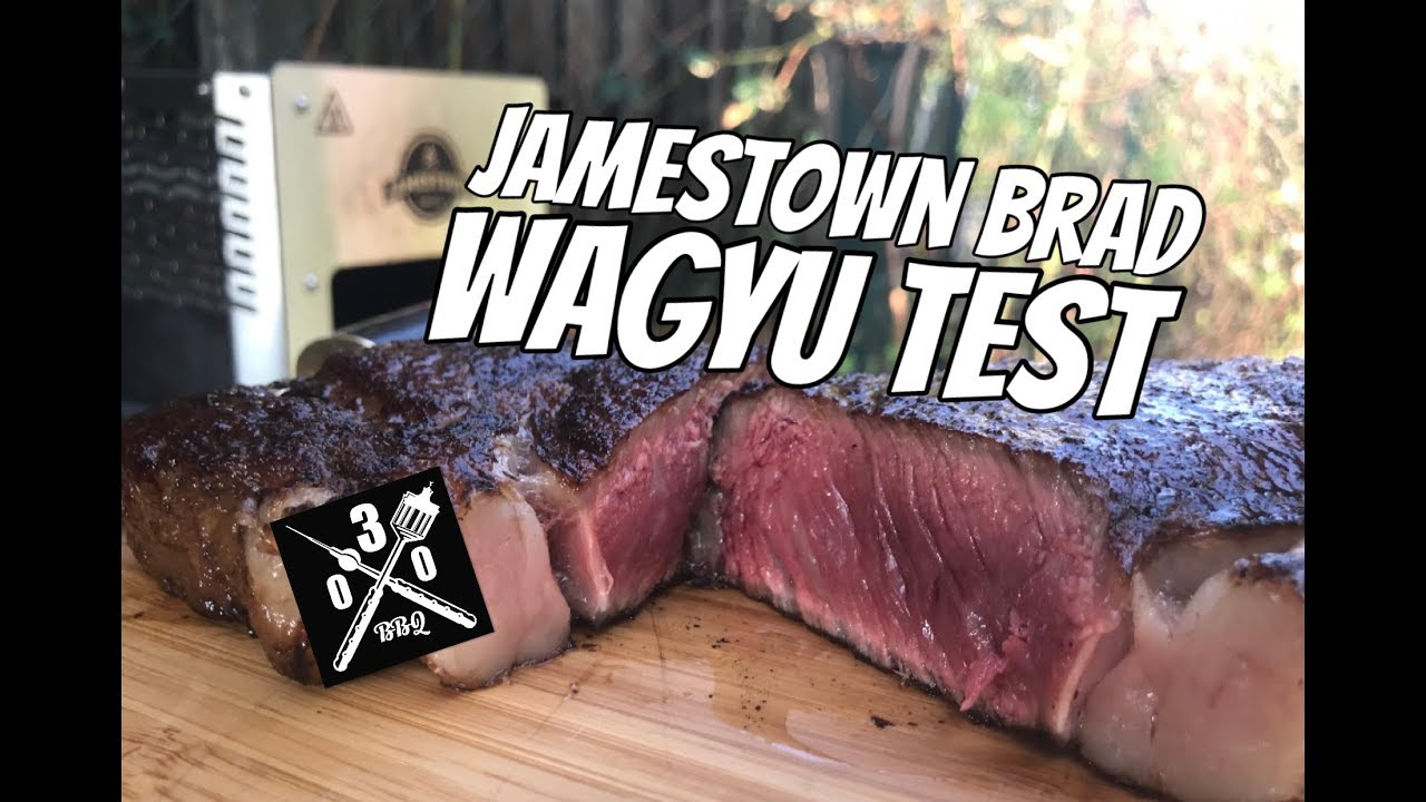 Jamestown Holzkohlegrill Test : Jamestown brad grill im wagyu test oberhitzegrill für 300 euro