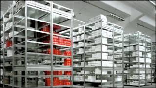 Складской вставной стеллаж, цветная стеллажная стойка(Складской вставной стеллаж, цветная стеллажная стойка KAISER+KRAFT, KAISER KRAFT., 2011-12-05T14:18:03.000Z)