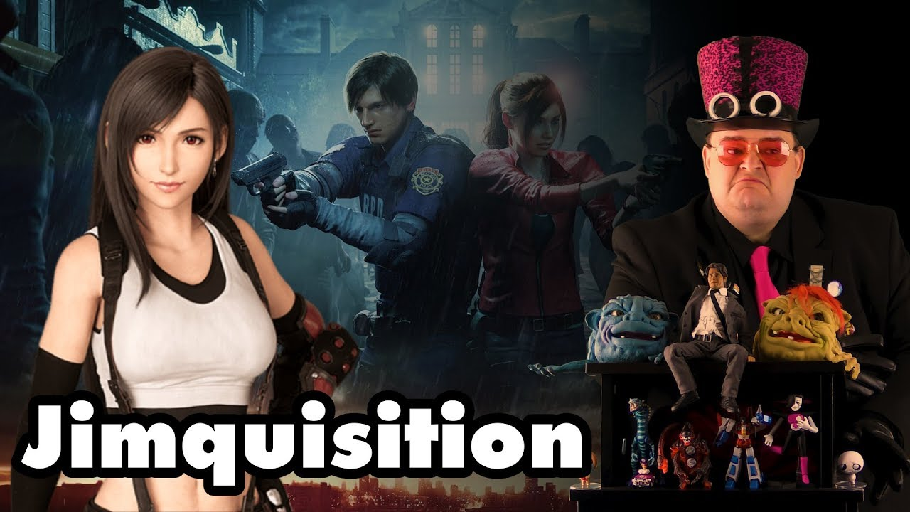 A Video About Resident Evil And Final Fantasy VII Remake (The Jimquisition)