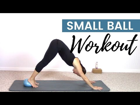 30 Minute Pilates Workout with a Small Ball