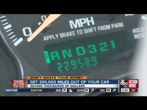 Don't Waste Your Money: Get 200,000 miles out of your car