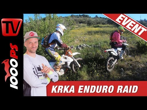 Endurofahren am Meer - KRKA Enduro Raid 2019 - 1000 Starter!