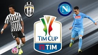 PES 2017 PC Juventus vs Napoli Coppa italia [720p/60FPS]