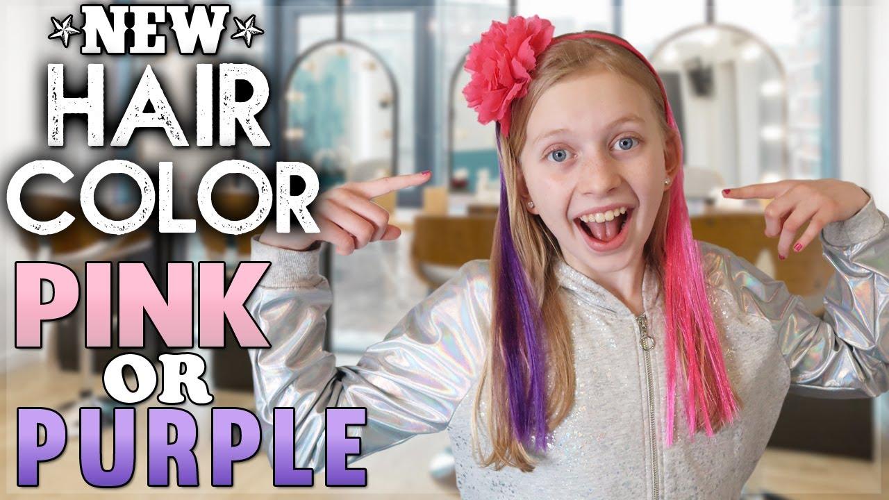Pink Hair Vs Purple Hair Youtube