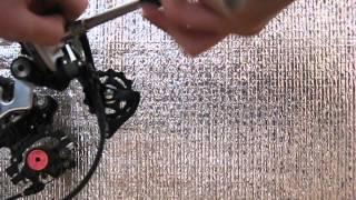 №1. Как поставить задний переключатель. 1 часть(Это мое первое видео, в котором я расскажу о том, как поставить задний переключатель на велосипед на примере..., 2015-02-11T16:43:23.000Z)