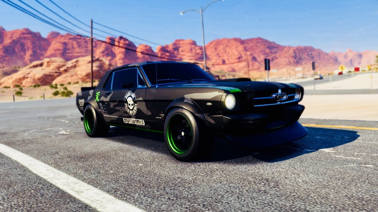 Mustang 1965 level 399 racer super build need for speed payback