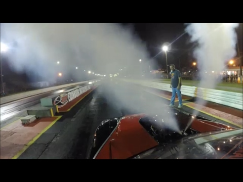 Memphis Street Outlaw Mustang Mike test Nitrous test hit!!!