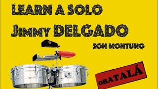 Jimmy Delgado and Friends - Solo Timbales + Transcription