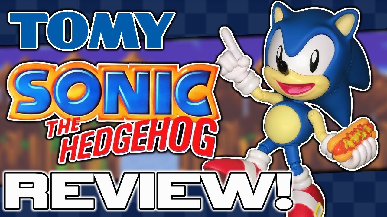 Review Tomy Sonic The Hedgehog Ultimate Figure Youtube