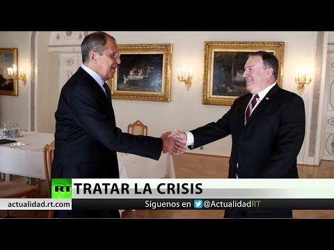 Lavrov y Pompeo abordan la situación en Venezuela entre persistentes discrepancias