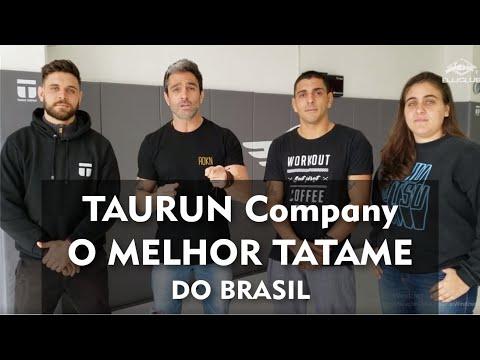 O Melhor Tatame do Brasil - TAURUN COMPANY - Jiu Jitsu