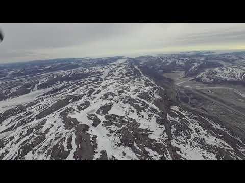 Departing Kangerlussuaq