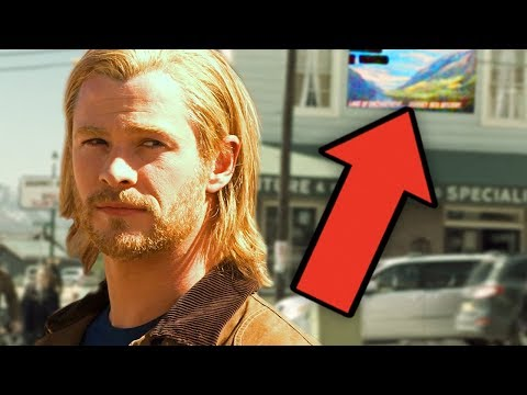 Thor (2011) - Easter Eggs & References - MCU Rewatch