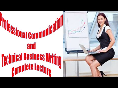 Professional Communication and Technical Business Writing Co