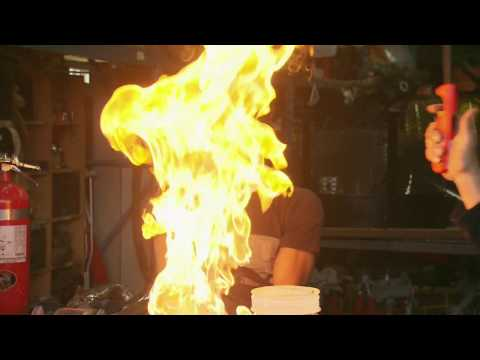 Playing with butane bubbles | Daily Planet