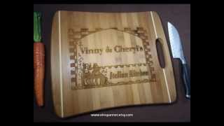 Personalized Cutting Boards By Einspanner