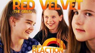 British Kids Watching Red Velvet 'ice Cream Cake' [the Girls] | Ocukids Kpop #9