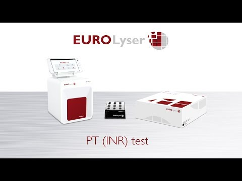 Performing A PT (INR) Test With The Eurolyser CUBE-S