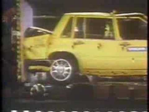 Volvo 740 Crash Test Add