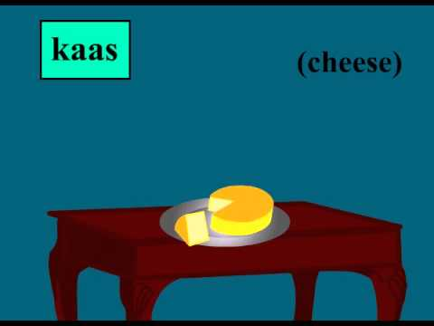 Food vocabulary in Afrikaans language
