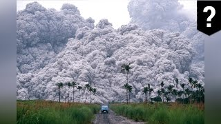Volcano pyroclastic flow  Pyroclastic flows move rapidly and destroy all in their way   TomoNews