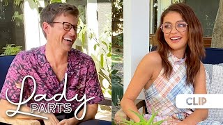 'Lady Parts' Clip: Sarah Hyland Quizzes Brad Goreski on His Knowledge of Lady Parts
