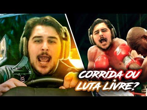 ISSO É CORRIDA OU LUTA LIVRE?! EXPLODI NAS CORRIDAS DO GTA V Online