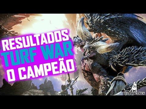 Monster Hunter World - RESULTADOS DA TURF WAR - O MONSTRO MAIS FORTE/QUERIDO! thumbnail