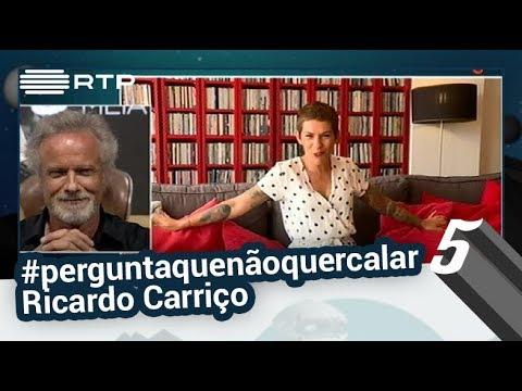Beatriz Gosta faz a #perguntaquenãoquercalar a Ricardo Carriço | 5 Para a Meia-Noite | RTP