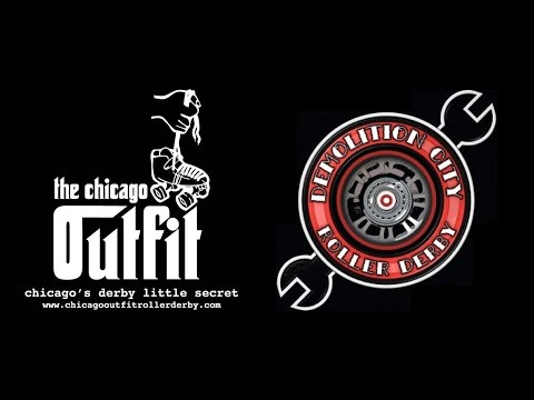 Chicago Outfit Syndicate vs Demolition City Dynamite Dolls Roller Derby July 30 2016