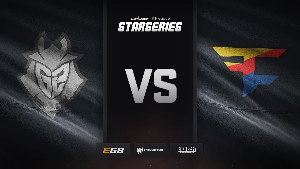 G2 vs FaZe, map 2 nuke, SL i-League StarSeries Season 3 Finals