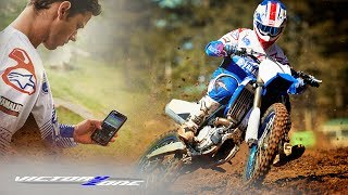 CONNECTED AS ONE. THE YAMAHA YZ450F.