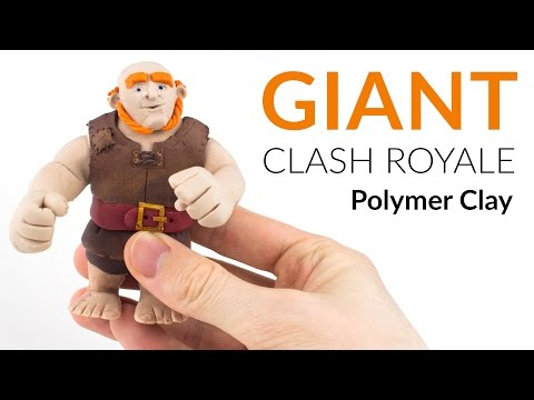 Giant (Clash Royale) – Polymer Clay Tutorial