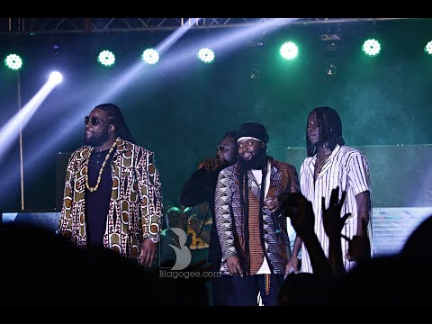 Stonebwoy, Morgan Heritage, Adebayor, Asamoah Gyan Performance At 2018 Bhim Concert