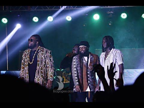 Stonebwoy, Morgan Heritage, Adebayor, Asamoah Gyan Performance At 2018 Bhim Concert
