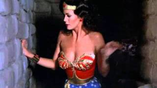 Wonder Woman - The Man Who Made Volcanoes Strength Scenes