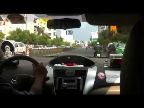 Ho Chi Minh City Taxi Plays Asian Electronic Music and Darts Through the City