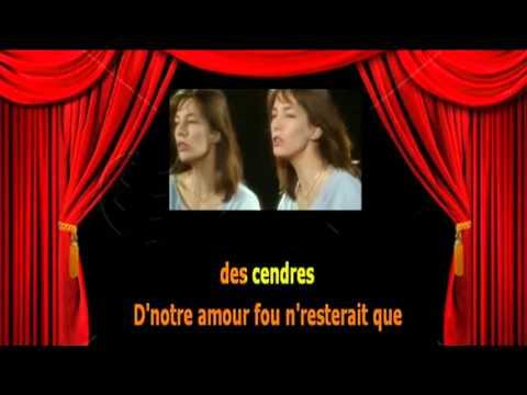 Karaoké Jane Birkin   - Quoi