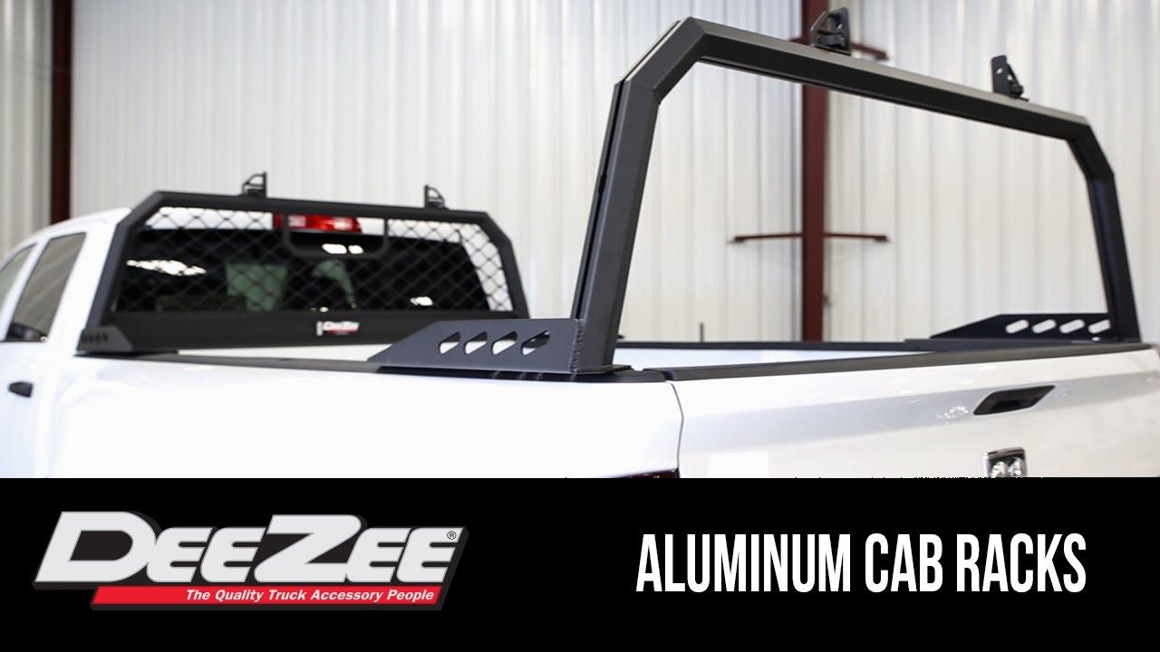 in the garage with total truck centers dee zee aluminum cab racks