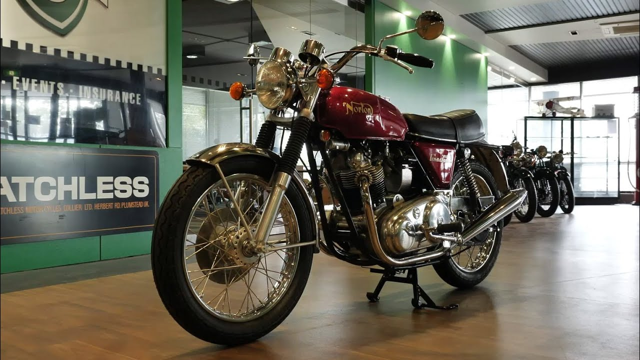 1971 Norton Commando 750cc Motorcycle - 2020 Shannons Winter Timed Online Auction
