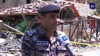 تسرب غاز يوقظ عمان على دوي انفجار جديد في شارع الرينبو (28/8/2019)