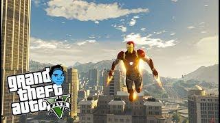 IRON MAN MOD 2.0!!! | GTA 5 - Playing With Mods (GTA 5 PC Gameplay)
