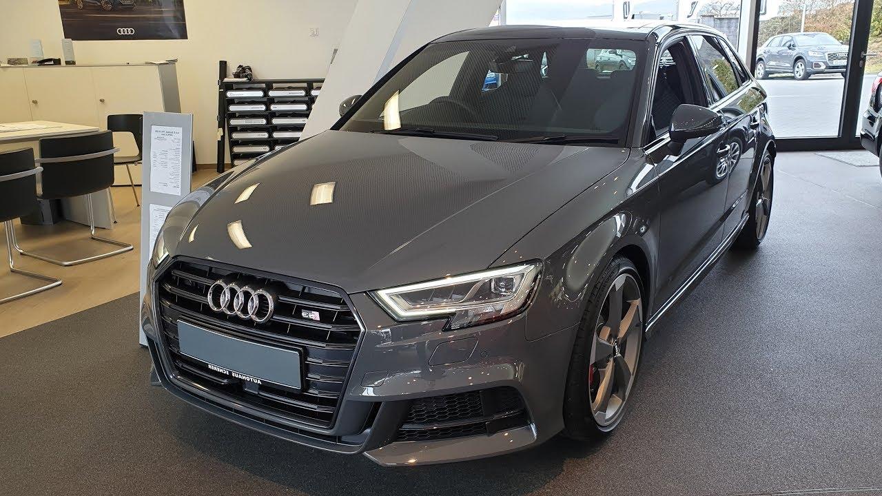 2019 Audi S3 Sportback TFSI S tronic - YouTube
