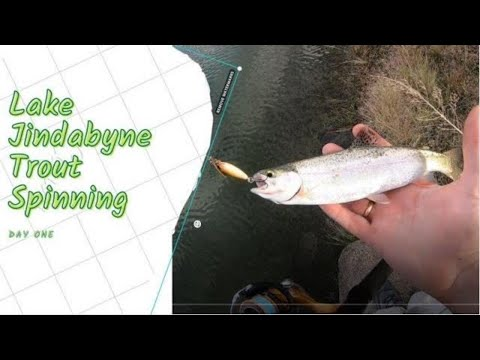 Lake Jindabyne Trout Spinning Day One